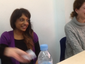 Jas and Laura enjoying the moment too!