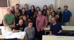 My TEFL class on graduation day!