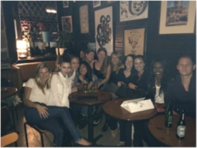 ½ of my relatively normal and completely wonderful TEFL family!