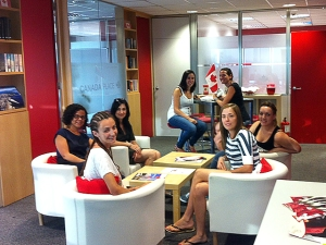 Teaching English in Sant Cugat - village near Barcelona
