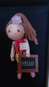 A doll a student's mother made of me.