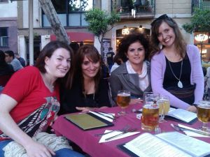 A few of my favourite school inmates... Miss Laoighse, Miss Luz, Miss Bernadette and Miss Lisa. We all worked together.