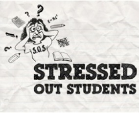 stressed out practising for the FCE and CAE exams