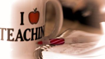 I love teacher mug, teacher development spain
