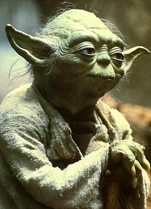 Yoda from the film star wars, the ultimate teacher
