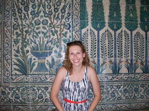Tiles in Topkapi Palace