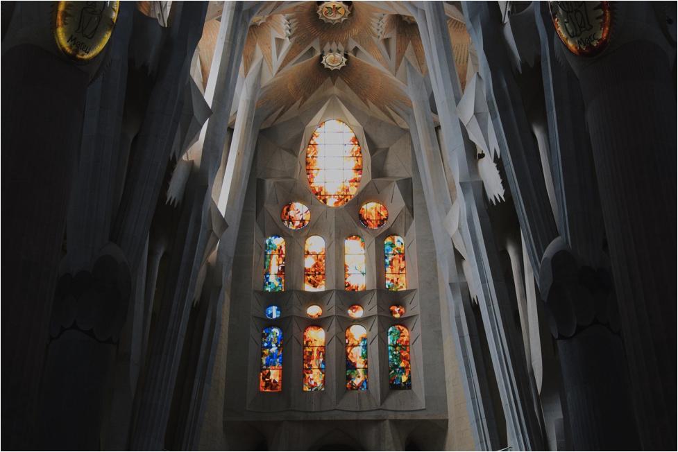 5 reasons to teach English in Barcelona - the Segrada Famillia!